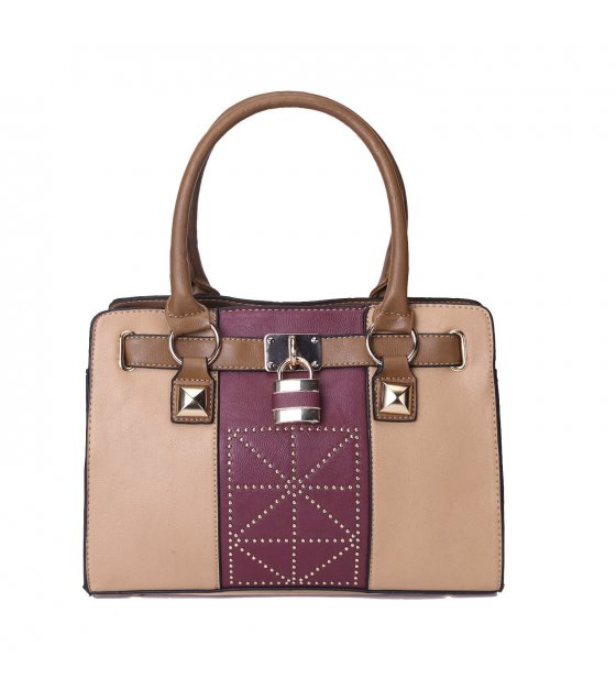 H286 - Cream Colored Handbag