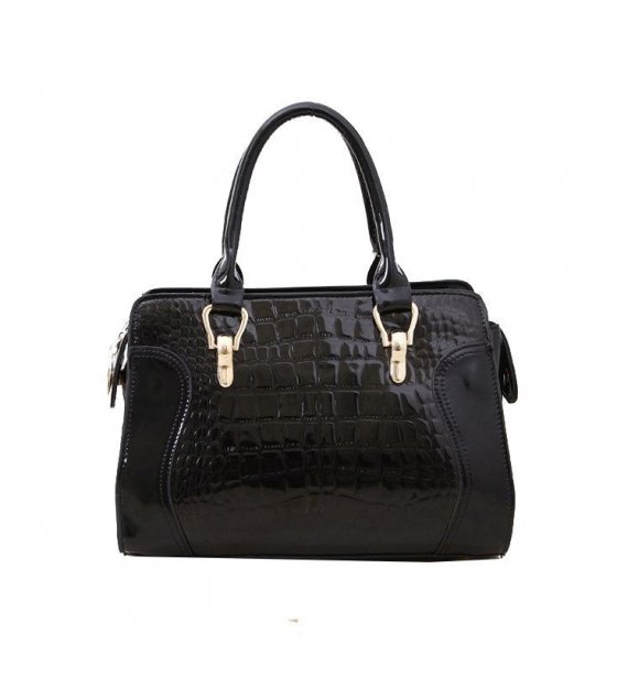 H315 - Stylish Black Handbag