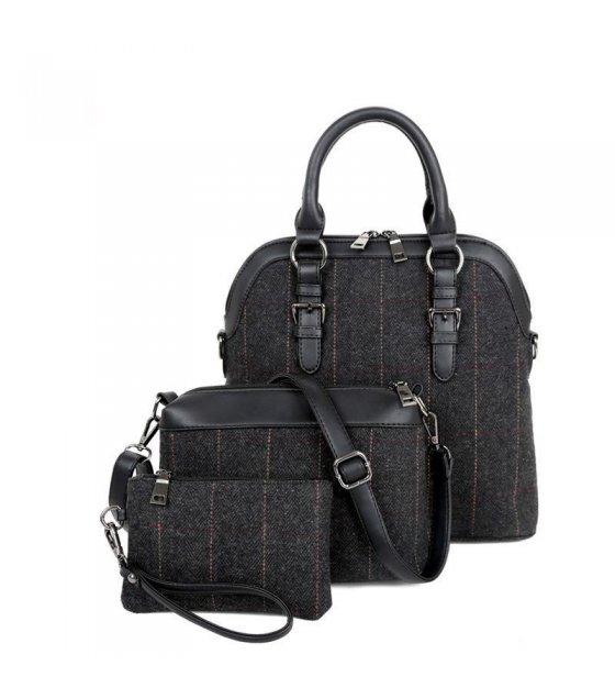 H362 - canvas shoulder bag