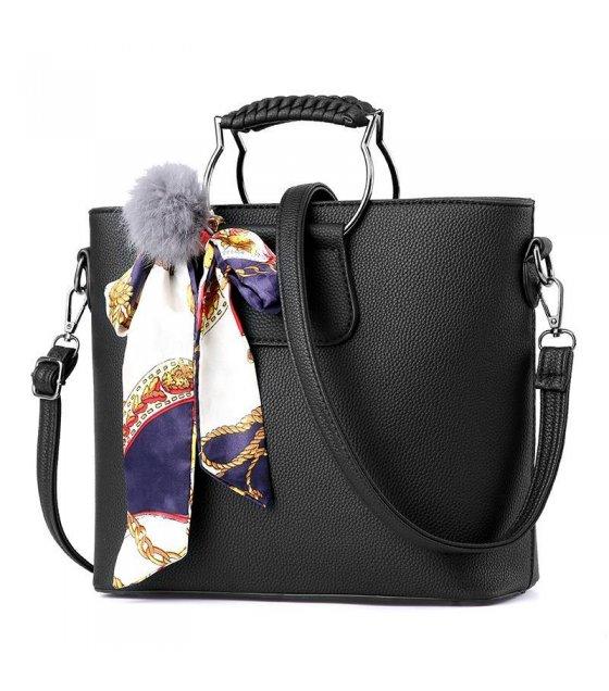 Out Of Stock H455 Black Shoulder Bag