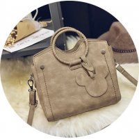 H461 - Cream Colored Handbag