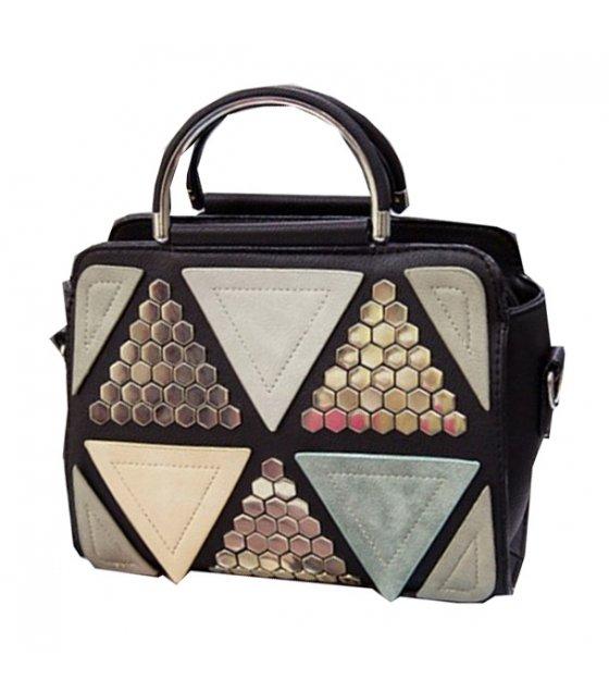 H504 - Colored Triangular Handbag