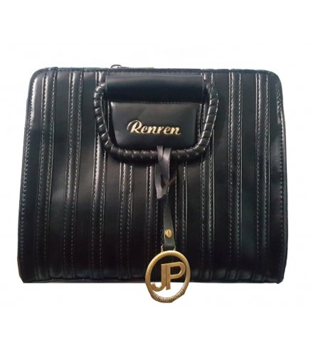 H563 - Luxury Black Handbag