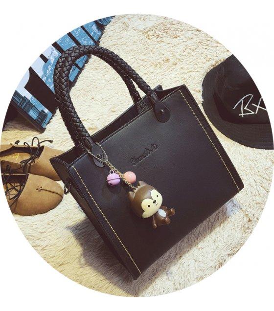 H579 - Autumn section woven handbag