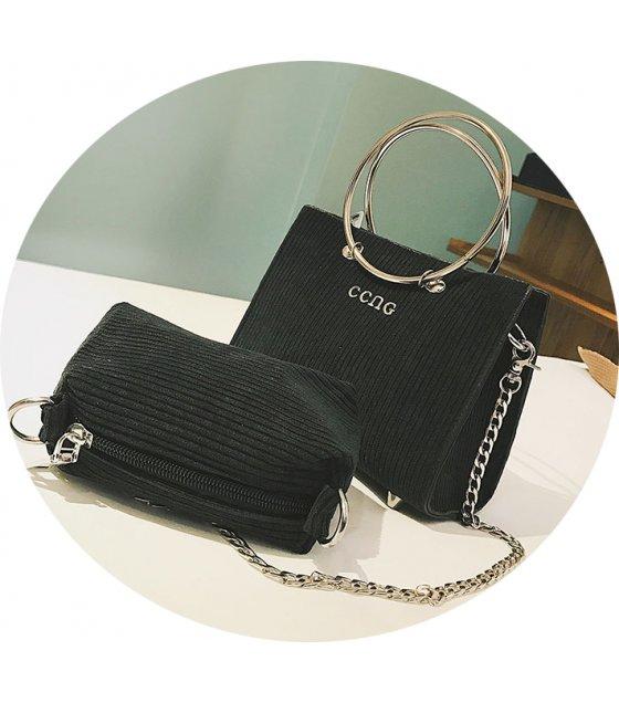 H594 - Tide chain shoulder Messenger bag