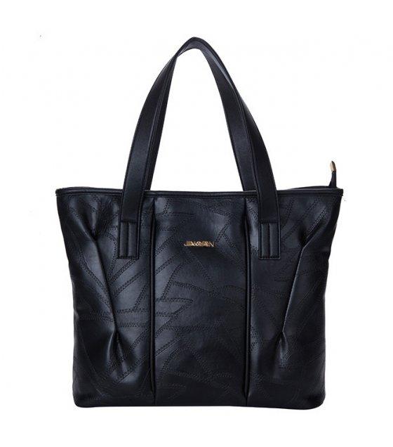 H595 - Soft leather portable shoulder bag