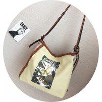 H597 - Cream colored Bag