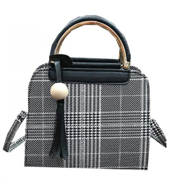 H646 - Tassels simple fashion shoulder bag