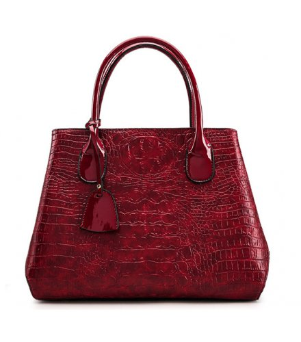 H661 - Crocodile pattern shoulder bag
