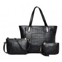 H680 - Three Piece  Messenger Bag