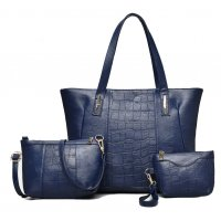 H681 - Three Piece Messenger Bag