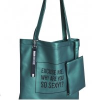 H727 - Printed Tote Shoulder Bag