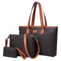 H754 - Bone pattern women's bag