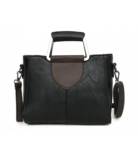 H761 - Classic Black shoulder Bag