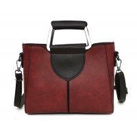 H762 - Korean Solid Shoulder Bag