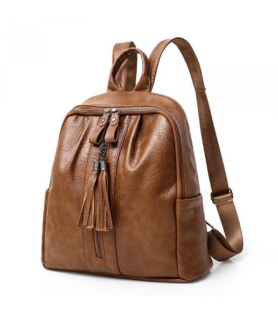 H767 - PU leather retro soft surface Bag