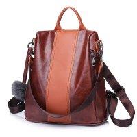 H769 - Color retro fashion simple shoulder bag