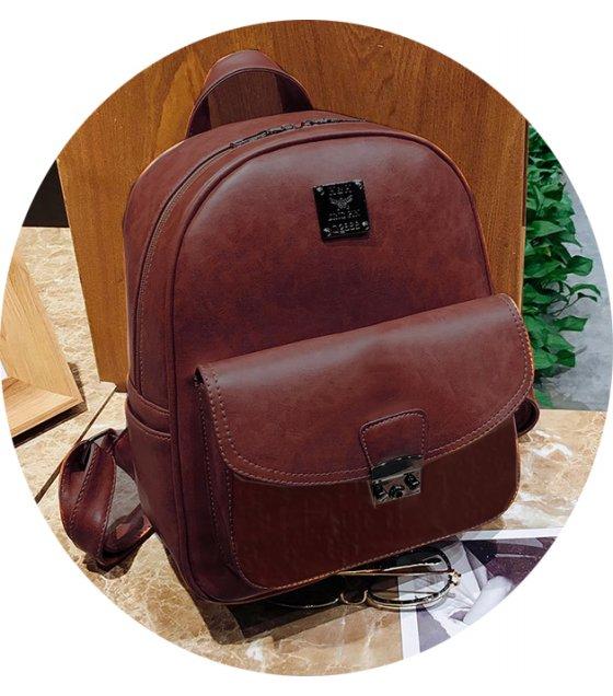 H785 - Retro Casual Backpack Bag