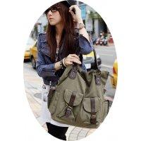 H801 - Korean Multi Pocket shoulder Bag