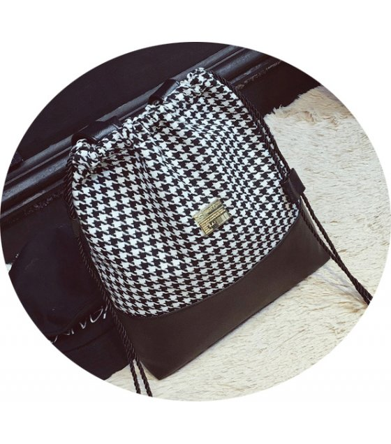 H835 - Stitched Shoulder Bag