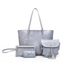 H843 - Korean retro handbags four-piece shoulder bag