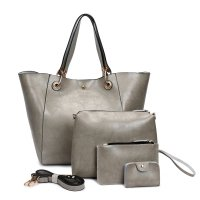 H861 - Oil wax leather shoulder Messenger bag
