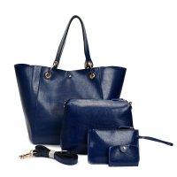 H862 - Oil wax leather shoulder Messenger bag