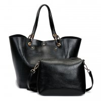 H863 - Oil wax leather shoulder Messenger bag