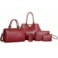 H867 - Korean fashion crocodile pattern Handbag