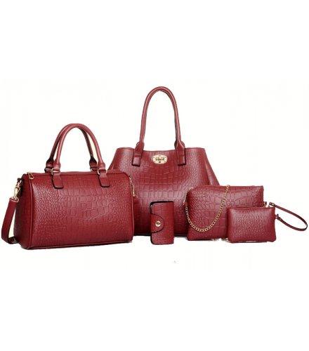 H867 - Korean fashion crocodile pattern Handbag