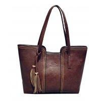 H879 - Retro tassel Shoulder Handbag