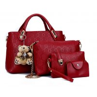H882 - Four Piece Handbag Set