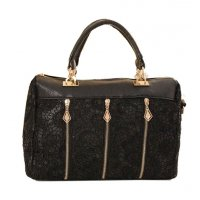 H886 - Luxury Black Handbag