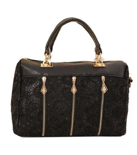 H886 - Luxury Black Handbag