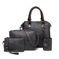 H887 - Four Piece Diagonal Shoulder Bag