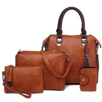 H889 - Four Piece Diagonal Shoulder Bag