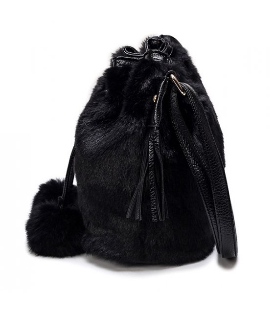 H897 - Korean fashion leopard bucket bag