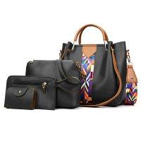 H912 - Four Piece Messenger Bag