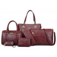 H917 - Elegant 6 Piece Shoulder Bag