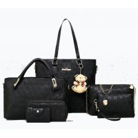H952 - Embossed Fashion Shoulder Bag Set