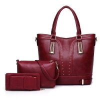 H963 - Stylish Simple Fashion Handbag Set