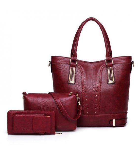 H963 - Stylish Simple Fashion Handbag Set
