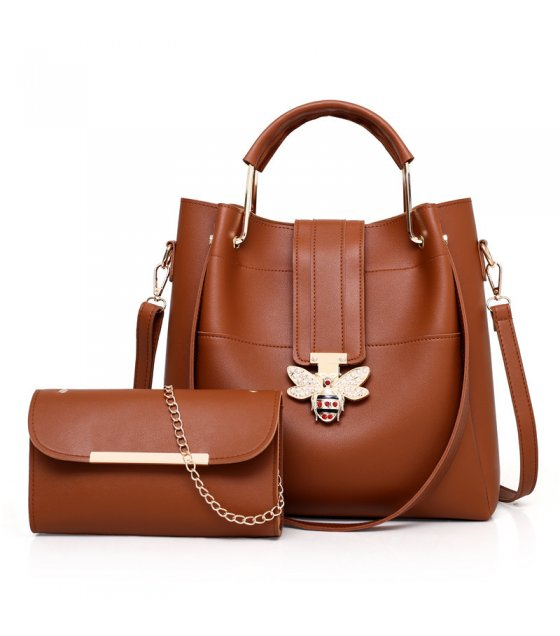 H997 - Bee buckle portable shoulder bag