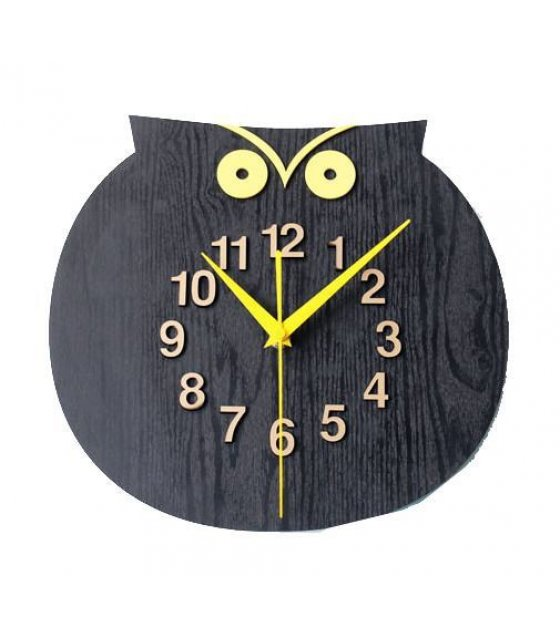 HD015 - Owl Clock