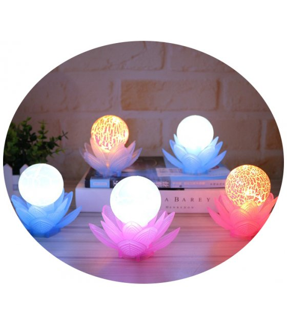 Lotus Lamp Decoration