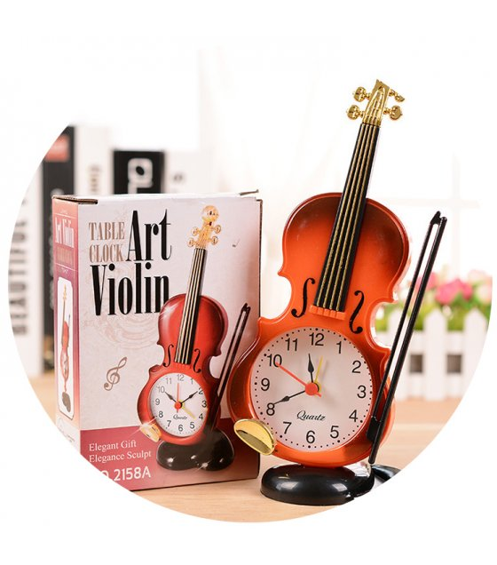 HD065  - Creative Instrument Table Clock