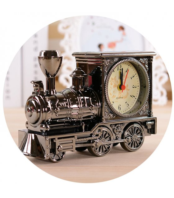 HD069 - Vintage Locomotive Desk Clock