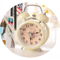 HD104 - Vintage classical traditional table creative alarm clock