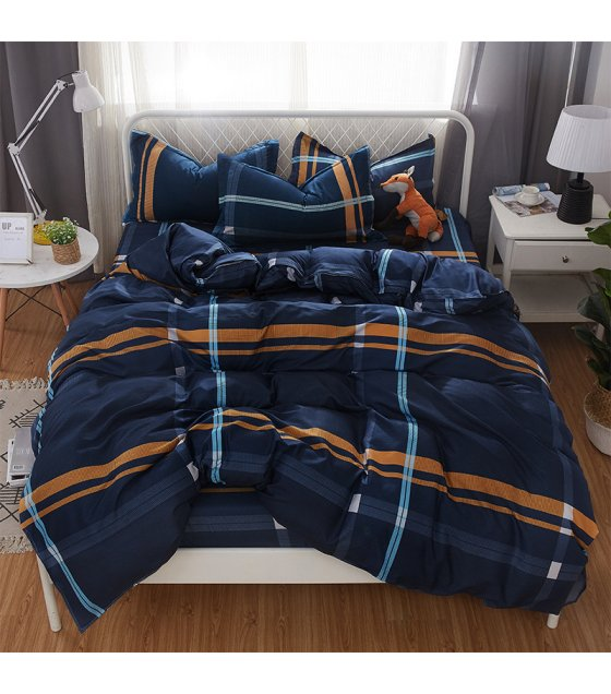 HD159 - Luxury High Quality 4pcs Queen Bedding Set