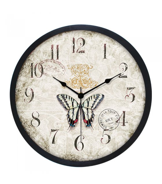 HD226 - Wood Analog Clock - Wall Clock